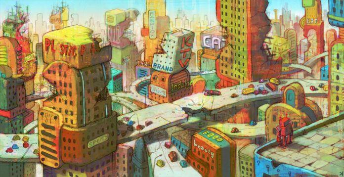 Ken Wong landscape illustration concept design inspiration art