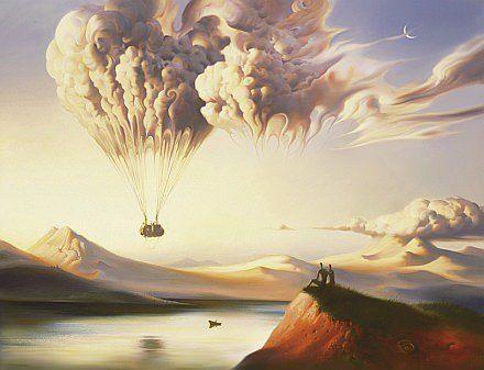 The Surrealist Art of Vladimir Kush « Illustration « Mayhem & Muse