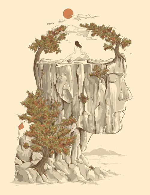 fantasy-surrealism-man-woman-asian-style-illustration-art