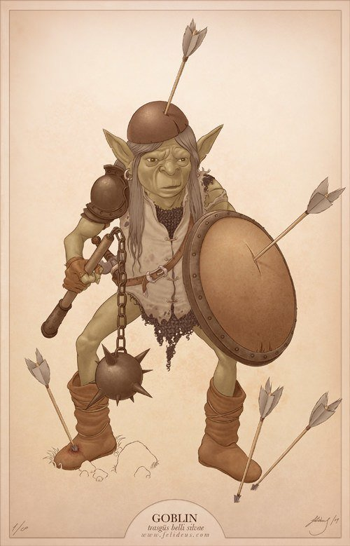 goblin character design illustration drawing art fantasy