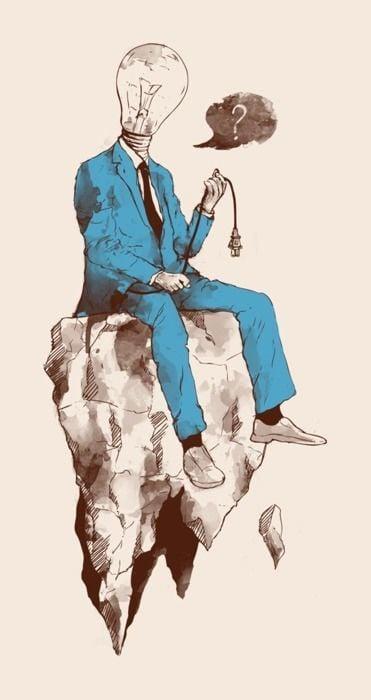 lightbulb-man-rock-surrealism-art-illustration-design