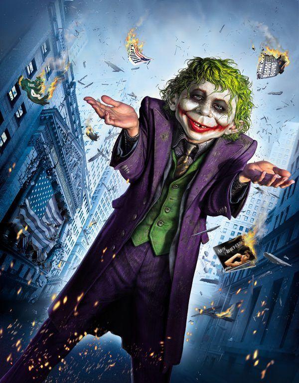 mad magazine Neuman Joker batman comic movie funny art