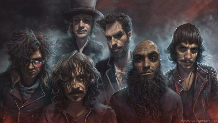 sam spratt painting foxy shazam fan art music design