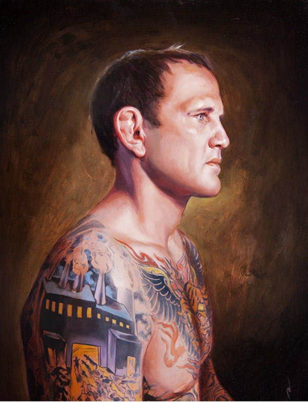 shawn barber tattoo painting body art ink portrait