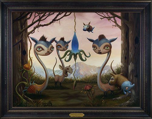 surrealism-art-alien-pony-human-faces-weird-bizarre-funny