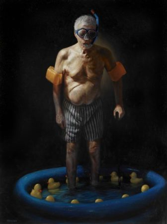 Obscure Pensioner Paintings by Jason Bard Yarmosky