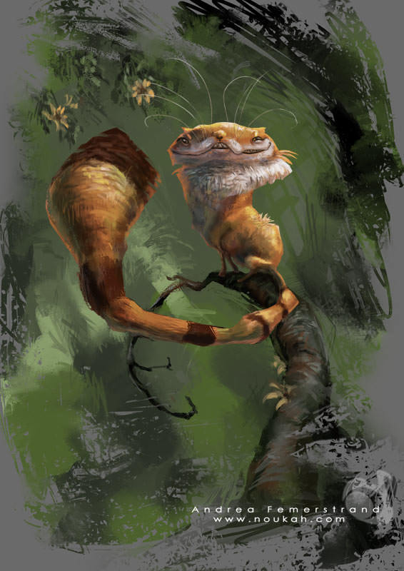 cheshire cat alice in wonderland character design photoshop painting digital illustration