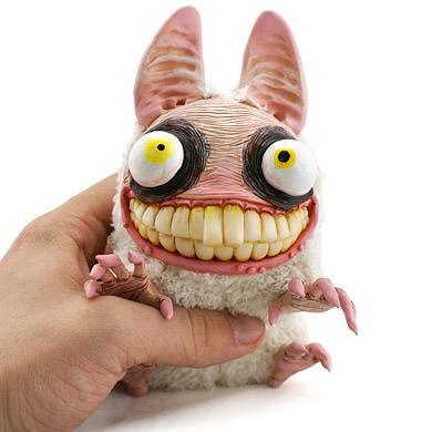 Crazy Bunny Rabbit Monster Doll Cute Creature Character