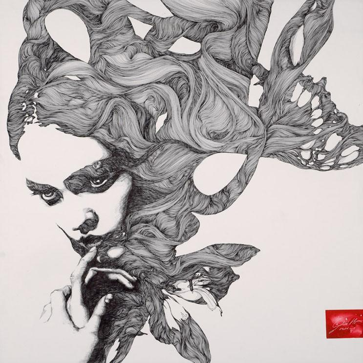 Drawing Lines In Muse : Art and life hybrids by gabriel moreno « illustration