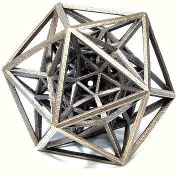 grossman math sculpture puzzle design science technology art
