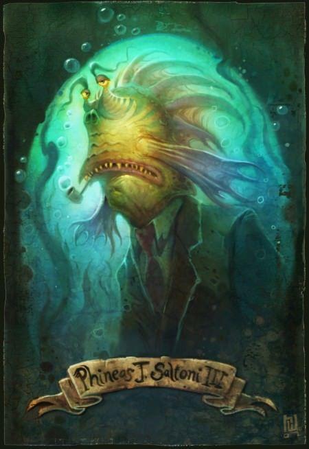 human animal hybrid photoshop painting art fish man merman fantasy funny digital