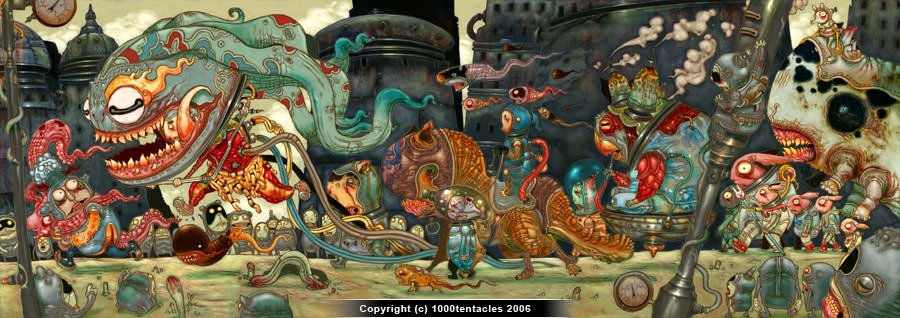 The Crazy Creations of Leong Wan Kok « Illustration ...