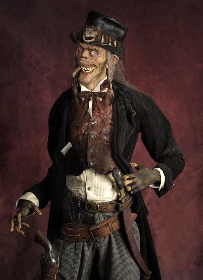 thomas kuebler life size sculpture carcass zombie gentleman beggar death