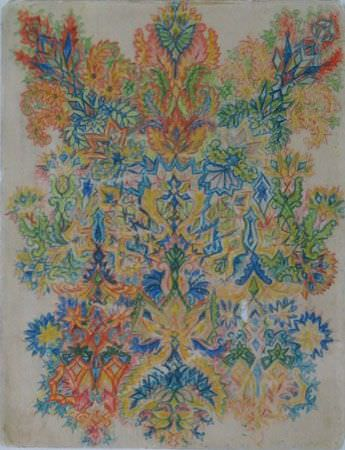 louis wain schizophrenia cat art illustration painting patterns abstract mental health disorder
