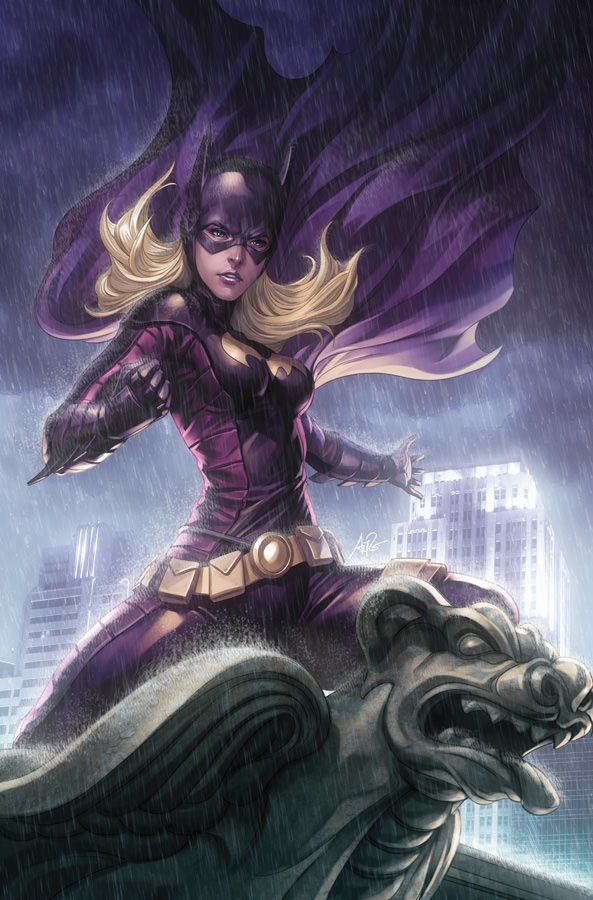 bat girl batman comic sexy superhero digital art photoshop illustration
