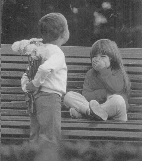 cute kids flowers romance valentines day love relationships inspiration motivation