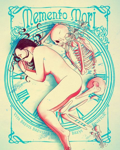 death lover skeleton woman bed sleep cuddle art inspiration design life