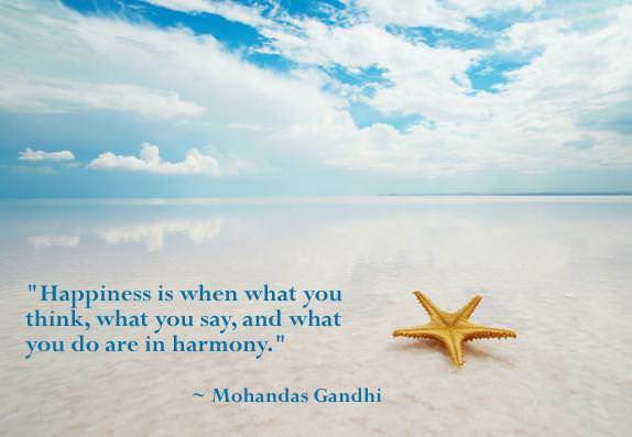 happiness quote ghandi integrity life advice picture image