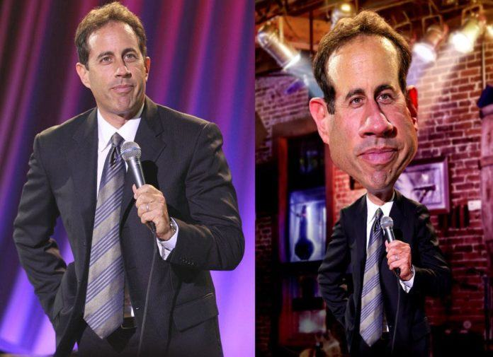 jerry seinfeld pike photoshop caricature image manipulation digital art face morph before and after