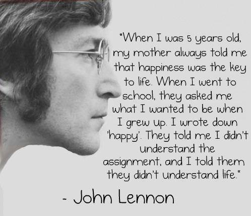 john lennon life quote image picture inspiration motivation photography happiness happy