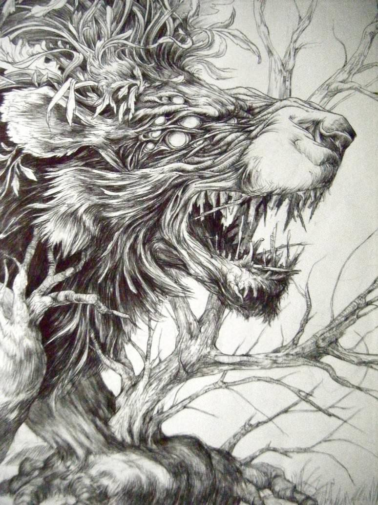 Nemean lion drawing - photo#8