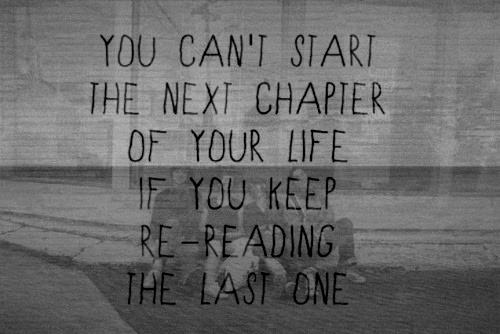 start next chapter life motivation inspiration poster picture art clever design