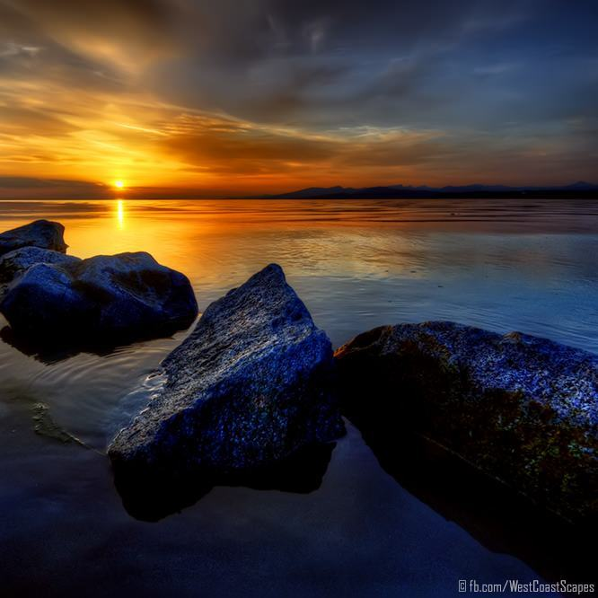 beach rocks sunset sea beautiful nature landscape photography art print for sale buy online