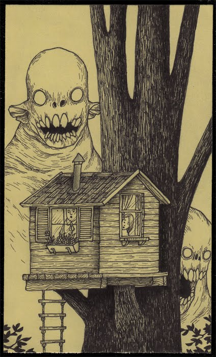 The Post It Monsters Of John Kenn 171 Illustration 171 Mayhem