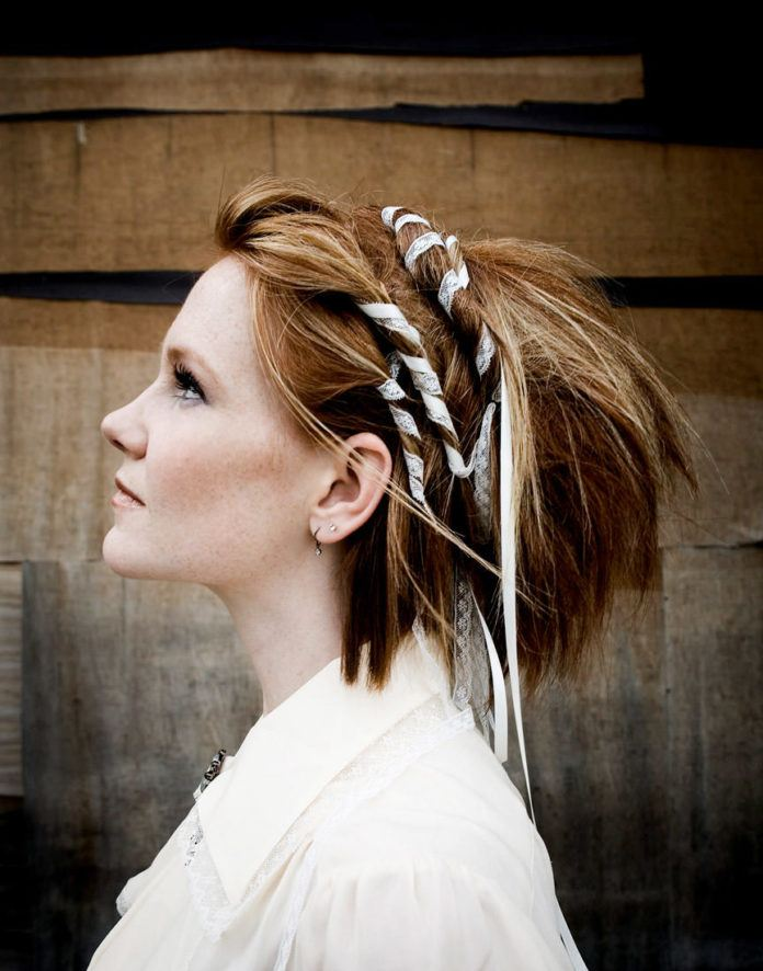 girl hair wraps hippy beautiful profile picture artistic photography peace life