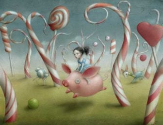 Surrealist Fairy Tale Illustrations by Nicoletta Ceccoli