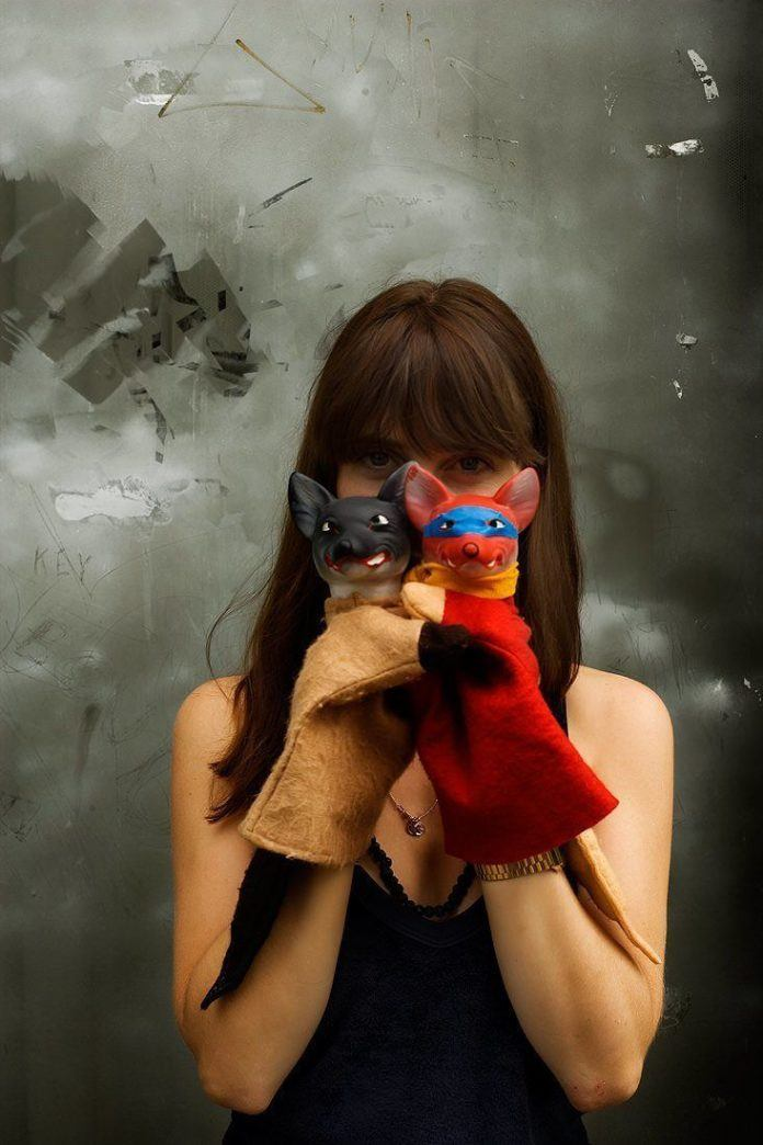 hand puppets girl photography jeremy cowarts creative life play game celebrate