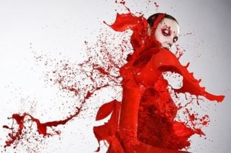 Photographer Iain Crawford Dresses Models in Paint