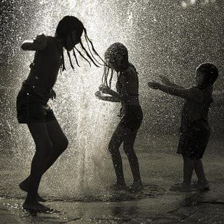 kids dancing in the rain fun games life inspiration motivation inner child photography