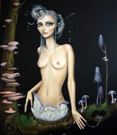 Surreal nude art consider, that