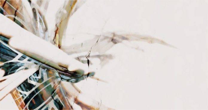 A digital abstract painting in Photoshop by Riyaan Shinjuku Wiener called Rising Dragon