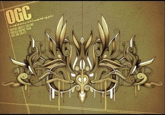 OGC graphic design by digital Photoshop artist Riyaan Shinjuku Wiener