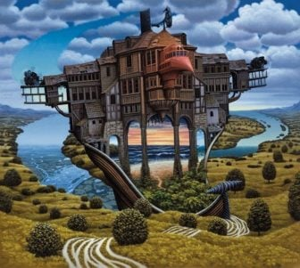 Jacek Yerka's Surrealist Paintings Suspend Belief