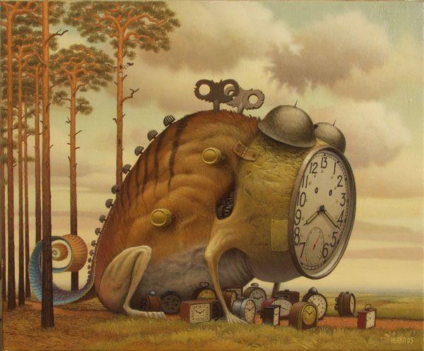 Resultado de imagem para o guardião do tempo pintura