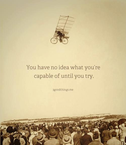 inspirational picture quote life advice flying wright brothers bicycle plane antique photograph motivation