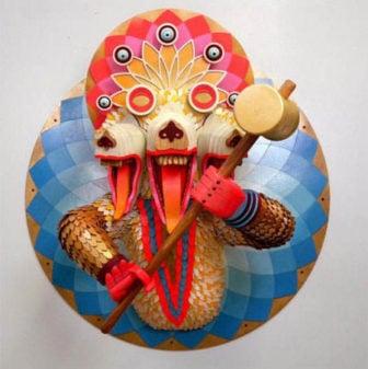 AJ Fosik creates Bizarre Beasties