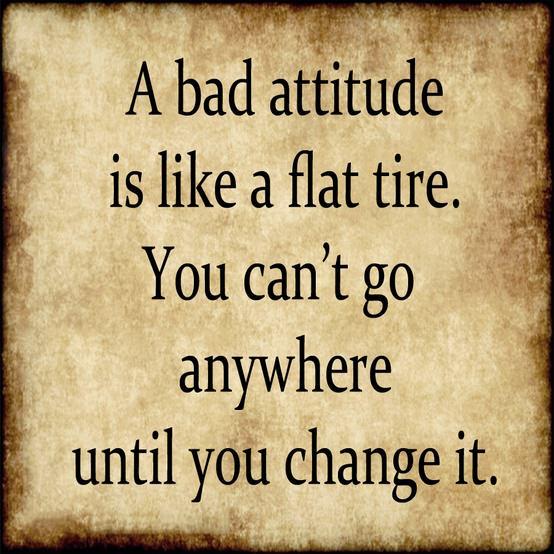 bad attitude quotes like success