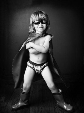 Being a superhero starts at a young age