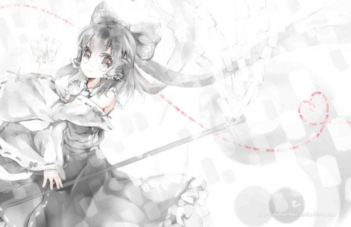 Photoshop artist Namie-kun creates a good white witch in a manga style