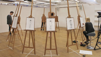 Life drawing stop motion