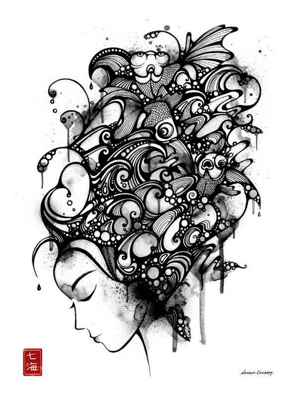 Абстракционизм рисунок