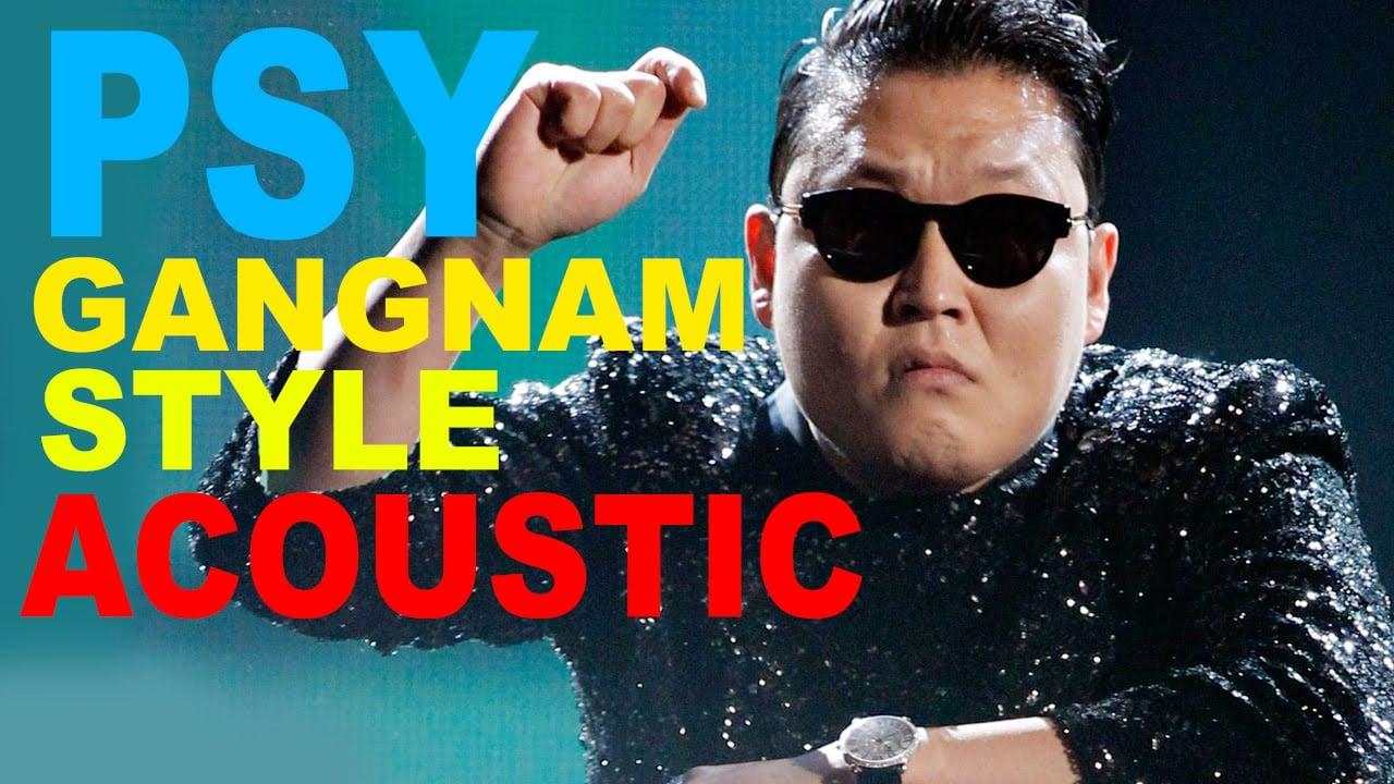 Original gangnam style song