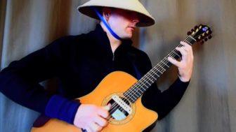 Ewan Dobson Plays Trance on Guitar