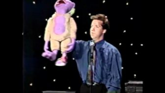 Funny Video of Jeff Dunham and Peanut from 1992