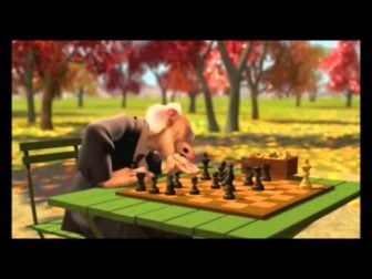 """Geri's Game"" – A Funny Pixar Animated Short"