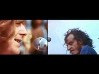"""Joe Cocker Singing """"With a Little Help from my Friends"""" at Woodstock 1969"""